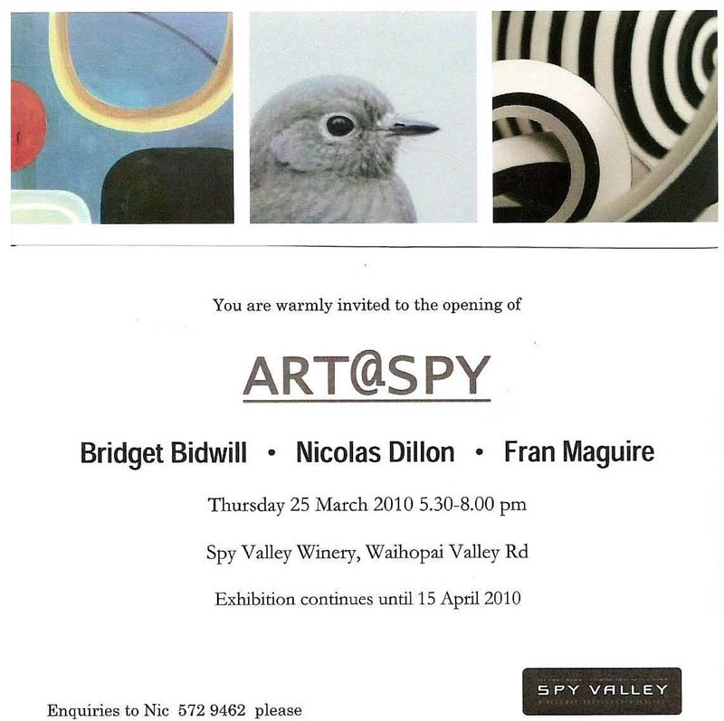 art spy invite
